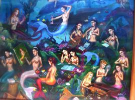 the mermaids by tecpatl68