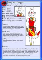 Tundercats Profile: Yenah the Bold by Sombraluz-Images