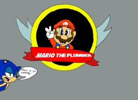 Mario the Plumber by Segavenom