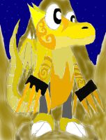Golden Claw of the Sacred Swords by SonicAsura