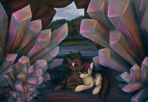 The cave by KatIsConfused