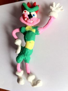 Bowyer of plasticine by SweetSilvy