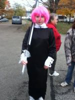 My Crona Cosplay at Camp by snowdrop123