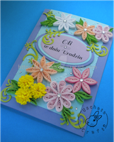Quilling - card by Eti-chan