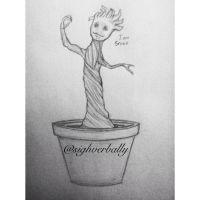 Little Groot by SighVerbally