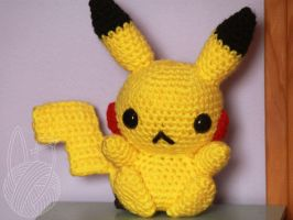 Pikachu - for sale on Etsy by theyarnbunny