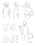 Body Poses by wangqr