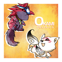 Oki and Ammy by Felinico