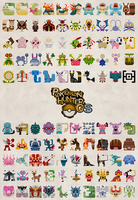 Pokemon Hunter GS Poster by Gryphon-Shifter