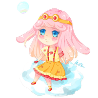 Commission Kylee Chibi by KyouKaraa