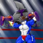 Ali Muscle Buster by WolfAli