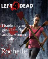 Left 4 Dead-Rochelle by Isobel-Theroux