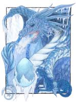 Ice Dragon by MapleDragon