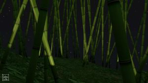 Blender - Bamboo 01 by Ludo38