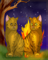 The Two Sides of Lionblaze xx by xxMoonwish