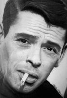 Jacques Brel by Self-Mao