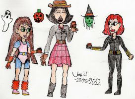 JJ-Patroller's Halloween Party by Urvy1A