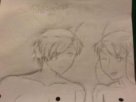 Male and Female Philippines by HetaliaXReader