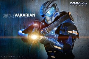 Garrus Vakarian cosplay by Nebulaluben