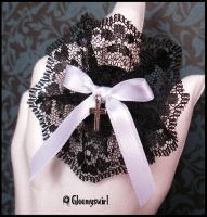 White cross ring by Gloomyswirl