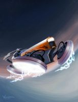 Hovercraft Exper III by KrIM-art