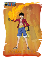 Monkey D. Luffy (Haki) by orochimarusama1