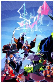 Robots In Disguise! by dcjosh