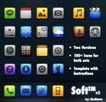 Soft v2 Theme for iPhone by kediashubham