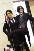Them Naughty Butlers by MFM-Photography