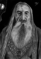 - SARUMAN, The White - by EduardoLeon
