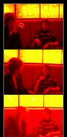 In The Red - Sara + Stef by scart