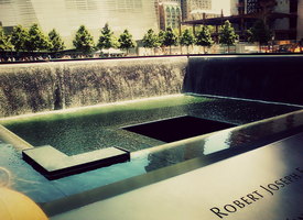 ::9/11 Memorial South Pool:: by grvtii