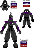 Ninja Fakemon by KingsTailor