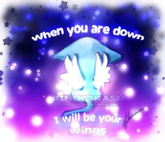 I'll be your wings by binoftrash