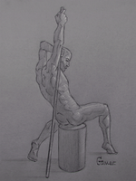 Figure Drawing #47 by AngelGanev