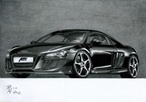 Audi R8 Black by watracz