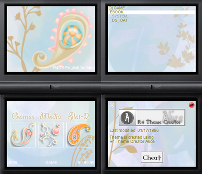 NDS theme: Equilibrium by Reameth