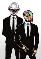 Daft Punk by RainbowMarimo