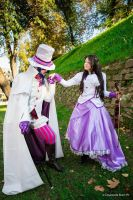 Austria and Mephisto - The Lady and the Demon. by mory-chan