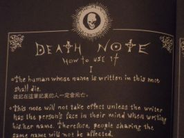 Death note 4 by wabodisnay