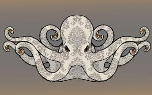 victorian octopus concept. by kerinewton