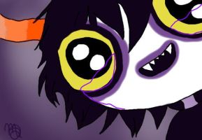 Gamzee by allivegotarerainbows