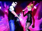 Joker and Harley Rocking Out2 by heatona