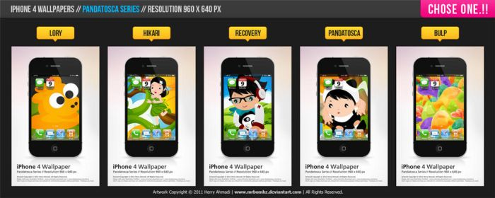 iPhone 4 Wallpapers by mrbumbz