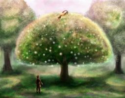 The Magician's Nephew: The Tree of Youth by ElectricalBee