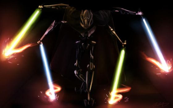 General Grievous by MadsMadnessRage