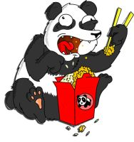 Panda Munchies by M0nteNegr0