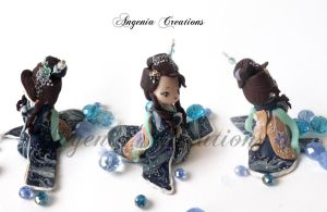 maiko statuette by AngeniaC
