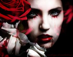 Blood and Roses IV by SamBriggs