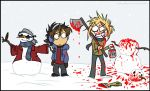 Check Out MY Snowman by midnightgem